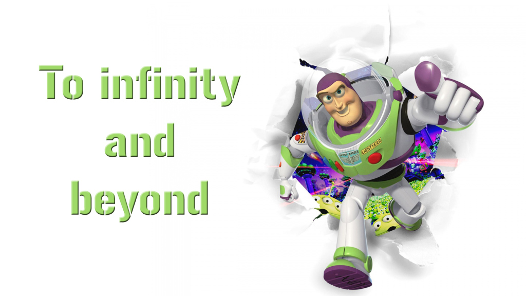 Image result for to infinity and beyond