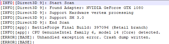 D3d Error